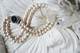 chanel pearl silver necklace 2