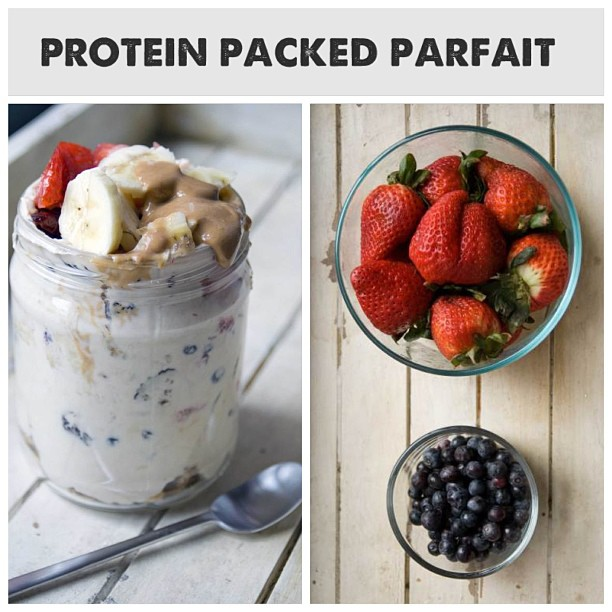 protein packed parfait