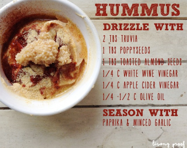 hummus recipe Liveng Proof