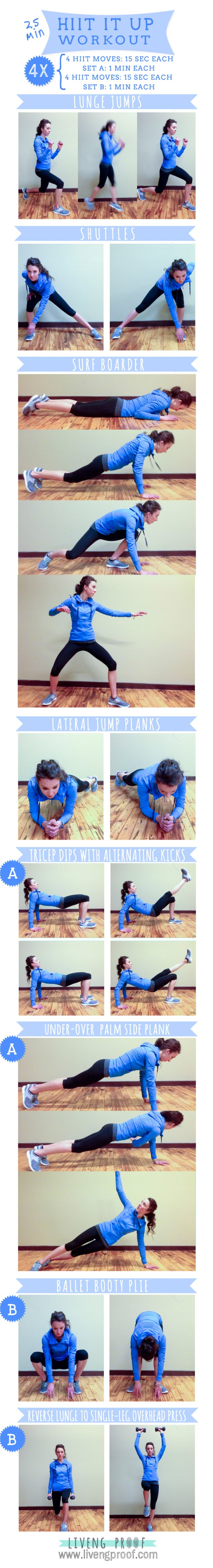 25 min HIIT It Up Workout