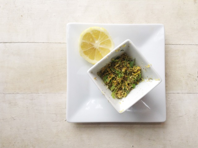 lemon herb quinoa