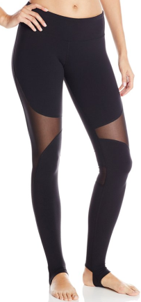 Alo Yoga Women's Coast Legging, Black, front