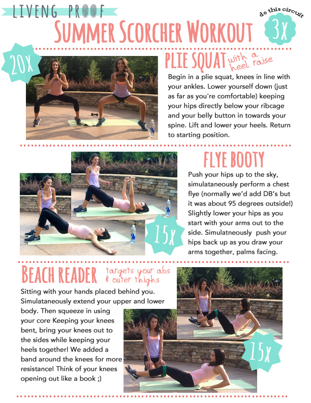 summer scorcher workout