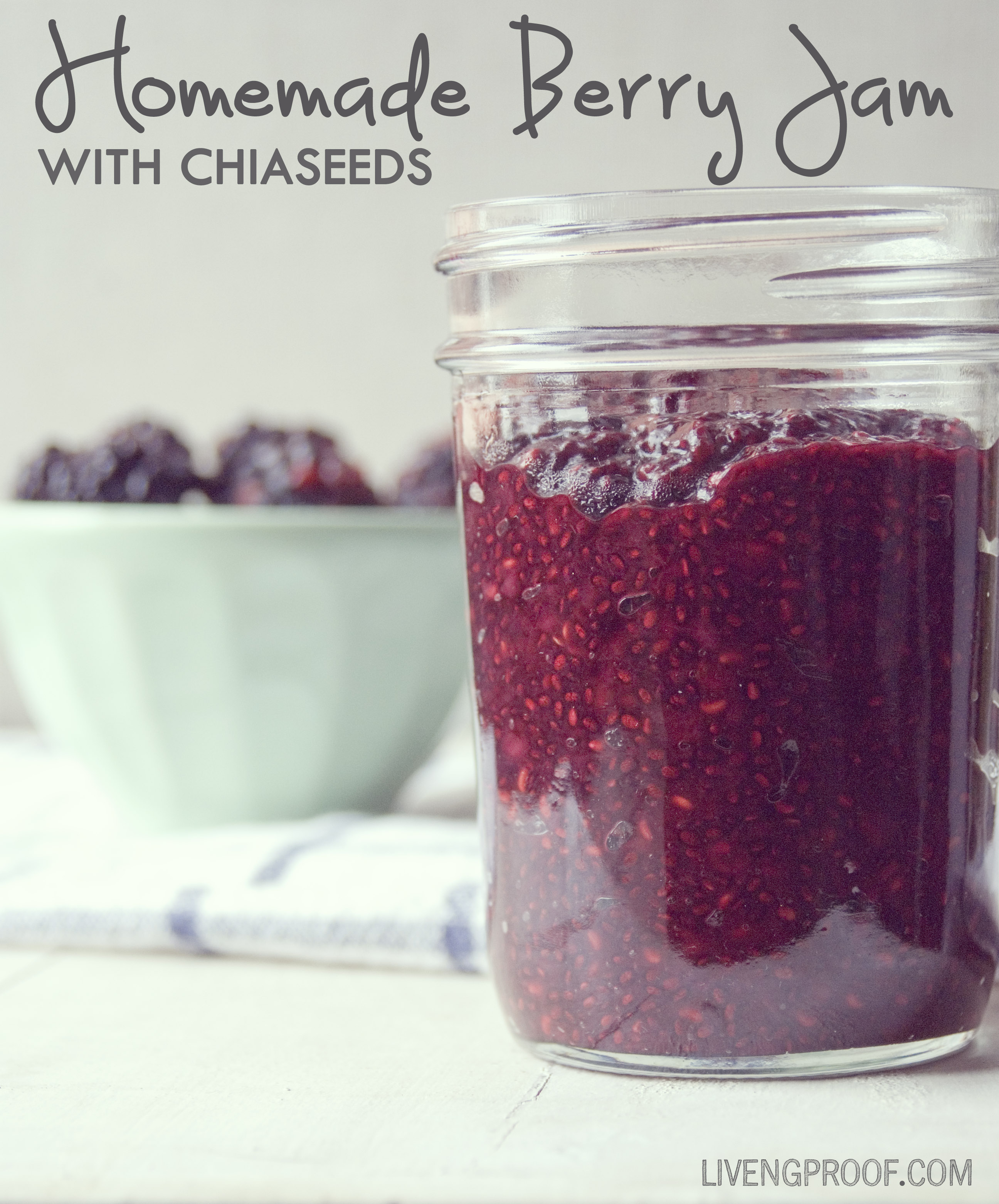 Homemade Berry Jam_livengproof.com