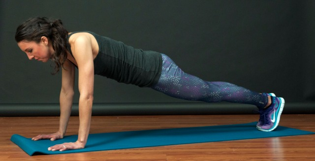 20-min lower body & core workout_livengproof_plank pic