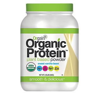 orgain vanilla protein powder