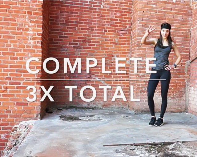 complete 3x thru